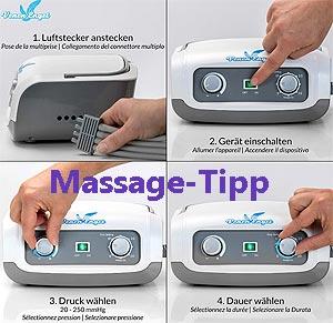 Bindegewebe-Massagegerät
