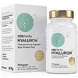 Hyaluronsäure Kapseln - Hochdosiert mit 500 mg pro Kapsel. 90 vegane...