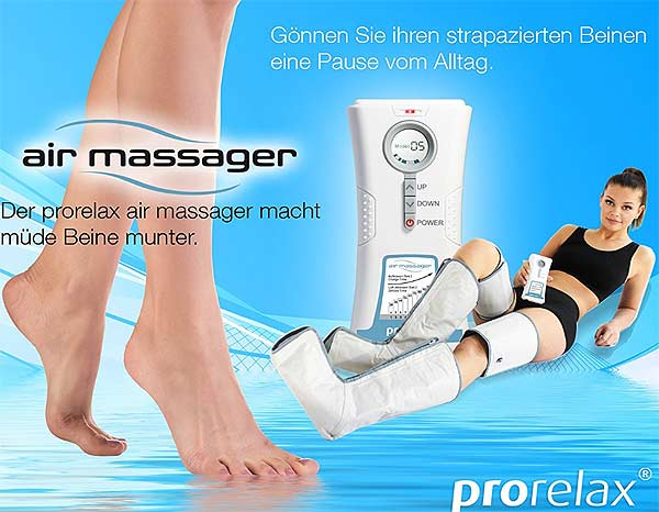Massage gegen schwere Beine