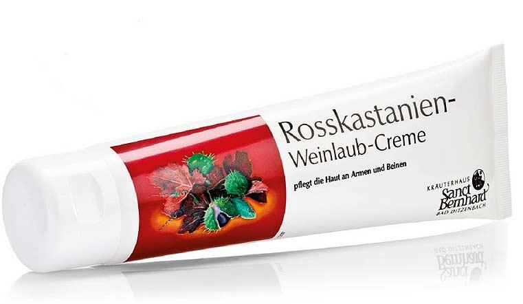 Rosskastanie Weinlaub Creme